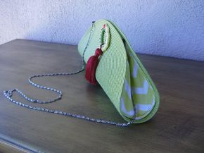 Sac A Main Chartreusesac En Set De Table Avec Par Girliegirlbysls Bag Pattern Hairpin Lace Crochet Diy Couture