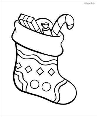 Large Christmas Stocking Coloring Pages Free Printable Large Christmas Stockings Color Christmas Stockings