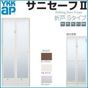 Ykk浴室ドア Ykkapサニセーフii 折れ戸sタイプ W744mm H1 827mm
