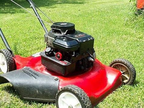 Carburetor Cleaning On A Craftsman 6 25 Horse Lawn Mower Lawn Mower Repair Lawn Mower Lawn