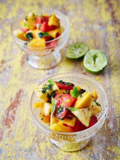 Mojito Fruit Salad Fruit Recipes Jamie Oliver Recipes Recipe Fruit Salad Recipes Jamie Oliver Recipes Fruit Recipes