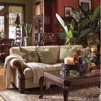 Tommy Bahama Home Tommy Bahama Home Benoa Harbour Living Room Set
