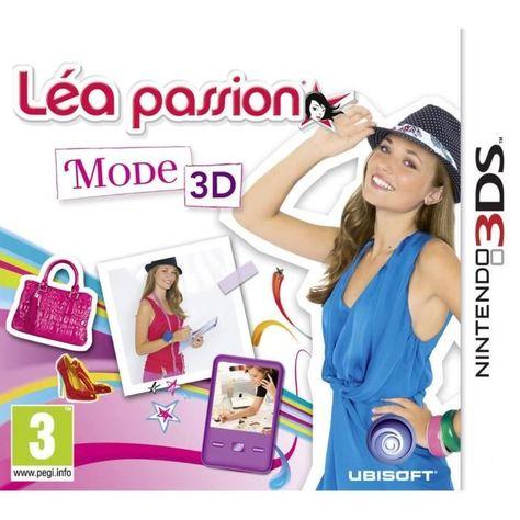 Lea Passion Mode 3d Jeu 3ds Mode 3d Mode Et Styliste De Mode