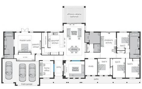 House Plan Stuarteveritt Brontefarmhousegrandemanor Lhs 2546x1900 V3 Home Designs Australia F House Plans Australia Farmhouse Floor Plans Rectangle House Plans