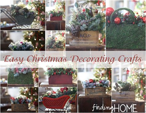 Easy Christmas Decorating Craft Ideas from Finding Home