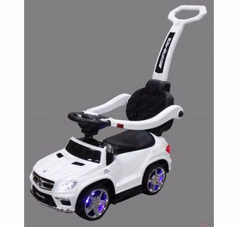 Car Baby Toy On Car With Push Bar And Rock Ride On Toys Kids