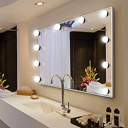 Makeup Mirror Led Light Bulb With Images Mirror Led Light