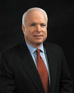 Senator John McCain and a Flag at Half-Mast | Gone to Glory