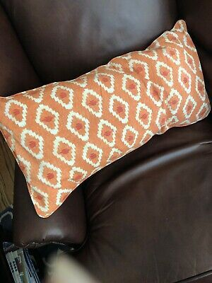 Pottery Barn 12 X 24 Lumbar Pillow Cover Orange Ikat Nwt Fashion Home Garden Homedcor Pillows Ebay L Lumbar Pillow Cover Ikat Pillow Covers Pillow Covers