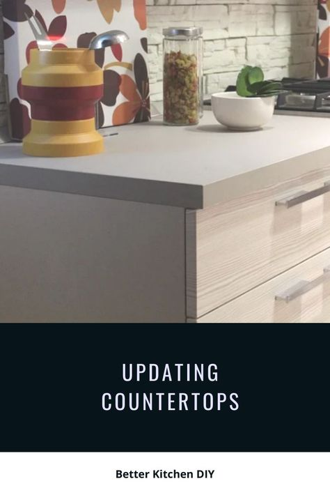DIY Options for Updating Your Countertops