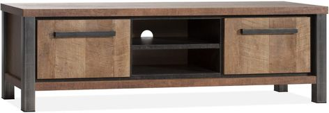 Tv Meubel Teak Modern.Kinga Broodkast Modern Industrial Furniture Teak
