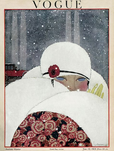 January 1919 - You'll Love These Illustrated Vintage 'Vogue' Covers - Photos