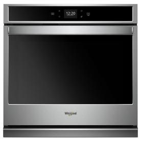 Whirlpool Self Cleaning Single Electric Wall Oven Stainless Steel