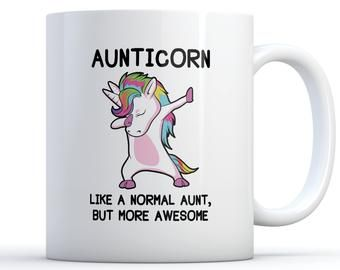 Aunt Mug Aunticorn Mug Aunt Gift Unicorn Aunt Mug Aunt Coffee Mug Gift for Aunt Auntie Gift New Aunt Gift Funny Coffee Mug Ceramic Coffee Novelty Mug/Cup Hardware-Locks Brewing-Wine Making Tools-Accessories Tools