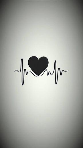 25+ Black Heart Wallpaper Photos PNG
