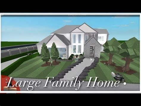 Home And Family Roblox White Houses