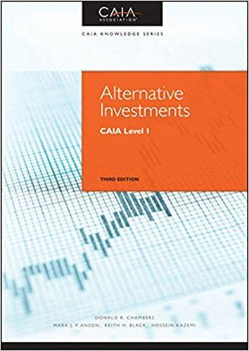 Amazon com: Alternative Investments: CAIA Level I (Wiley Finance