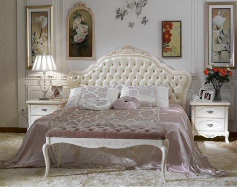 Hot Item French Style Bedroom Set Furniture Bjh 225 In 2020