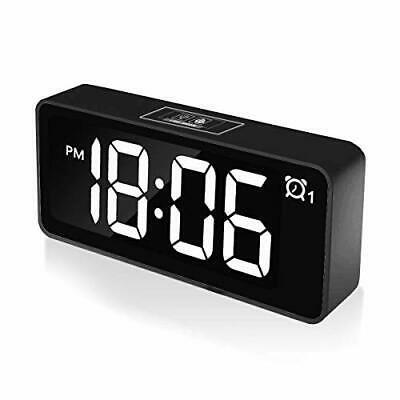 Chereeki Digital Alarm Clock 4 6 Led Display Clocks With Dual Alarm Black Fashion Home Garden Homedcor Cloc Reloj Despertador Pantallas Led Despertador