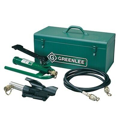 Sponsored Ebay Greenlee 800f1725 Hydraulic Cable Bender W Foot Pump Hose Unit And Storage Box In 2020 Electrical Tools Home Electrical Wiring Metal Working Tools