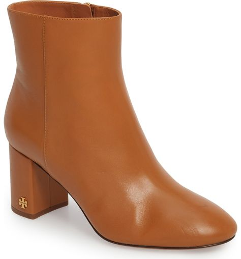 5c2721424b4b Free shipping and returns on Tory Burch Brooke Bootie (Women) at  Nordstrom.com. A gleaming double-T logo at the block heel adds a flash of  subtle glamour to ...