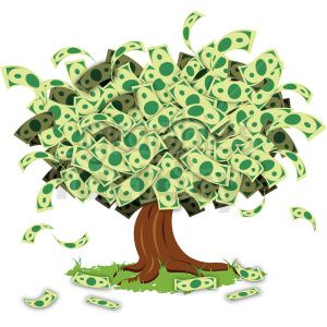 Cartoon Money Tree Images Moneytree Money Cash Vector Illustration Art Illustrationart Cartoon Clip Art Clip Art Tree Clipart