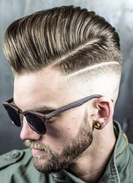 15 Cool Pompadour Hairstyles In 2020 Hard Part Haircut Mens Hairstyles Long Hair Styles Men