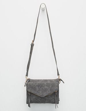 4ff4fe837d59 VIOLET RAY Leanna Crossbody Bag Grey