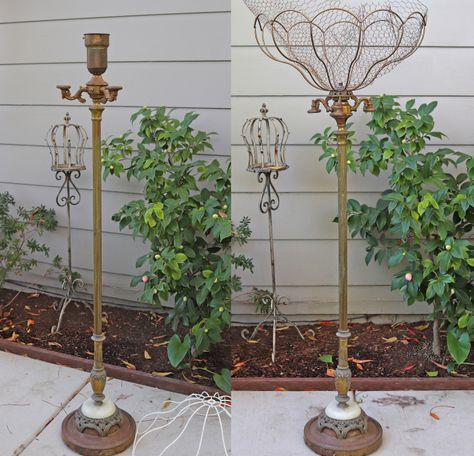 Have you tried this Container Gardening advice? We love the suggestion of this number 4151045865 pin. Garden Junk, Garden Planters, Garden Totems, Garden Whimsy, Garden Sheds, Glass Garden, Diy Garden Projects, Garden Crafts, Recycled Garden Art