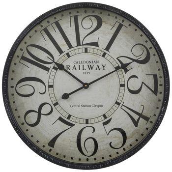 Distressed Black Metal Wall Clock In 2020 Clock Best Wall