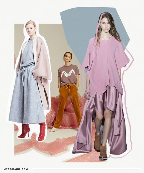 Somewhere at the crossroad of slip dresses and hygge comes a new comfort-inspired lifestyle trend that makes it acceptable to go out in pajama tops and turn your home into a spa. Cue all the...