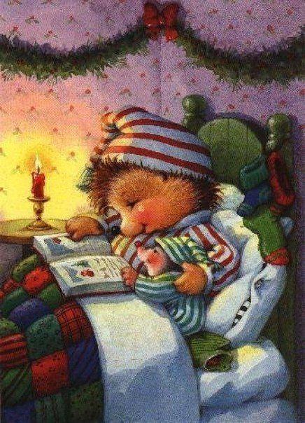 Картинки с ежиком спокойной ночи мужчине, днем