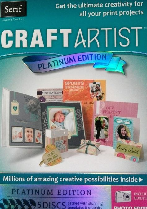 49a99d25a6a Serif Craft Artist - Platinum Edition. And more. Make it personal and then  share. Creative Text.