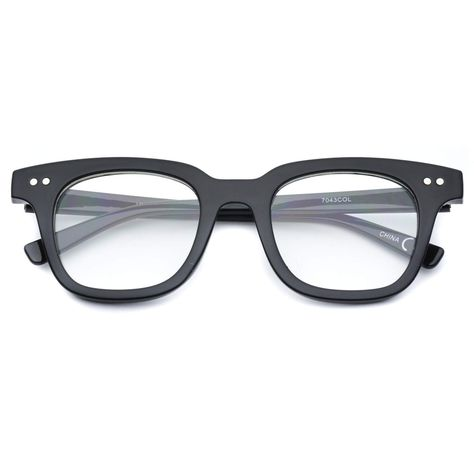99f4ba2783 Wallace Thick Flat Top Clear Non-Prescription Glasses