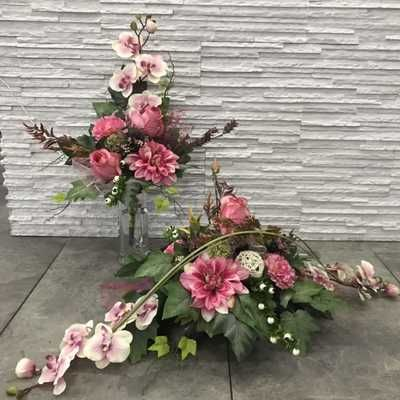 Stroik Na Grob Kompozycja Bukiet Torun Olx Pl Funeral Floral Flower Arrangements Cemetery Decorations