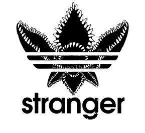 Stranger Things Adidas Logo Stranger Things Logo Stranger Things Sticker Stranger Things Shirt