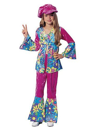 Costumes & Accessories Medium Franco American Novelty 49038-M Costume Flower Power Costumes & Accessories