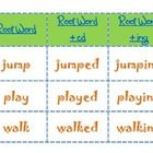 This word sort includes cards with the root word, root word + ed ending, and root word + ing ending. Recording sheet included!...