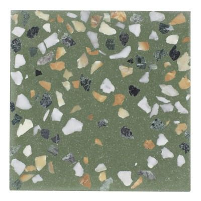 Ash Nyc S New Terrazzo Tile Four Ways In 2020 Terrazzo Tile Terrazzo Vintage Sconce