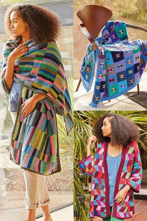 575d1c2c32466c 7 Free Knitting Patterns by Kaffee Fassett