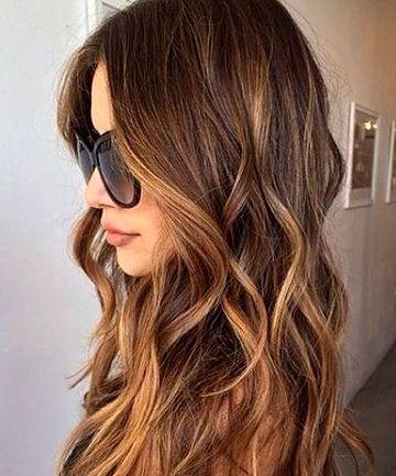 Olive Skin Tones Should Experiment With Caramel Tones Brunette Hair Color Summer Hair Color For Brunettes Balayage Hair