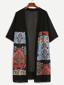 dcfa32e7a Spring Meadows kimono jacket - Dark Blue | Jackets & Coats | Ted ...