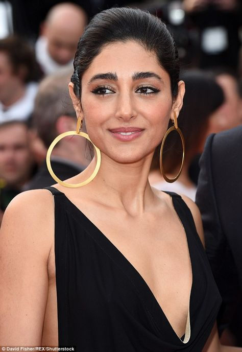 Exquisite beauty: Also adding to the glamour was stunning actress Golshifteh Farahani who...