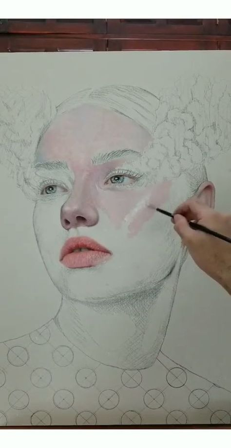 Skin Painting Process by @ronaldrestituyo_ Part 1