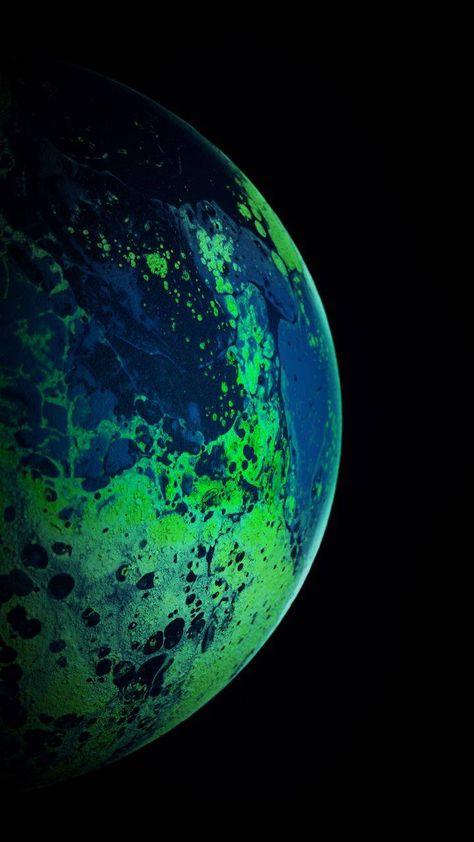 Green Planet iPhone Wallpaper - iPhone Wallpapers