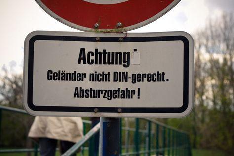 Deutschland weiß: Ordnung muss halt sein. 29 Fotos, mit denen du anderen erklären kannst, was typisch Deutsch ist