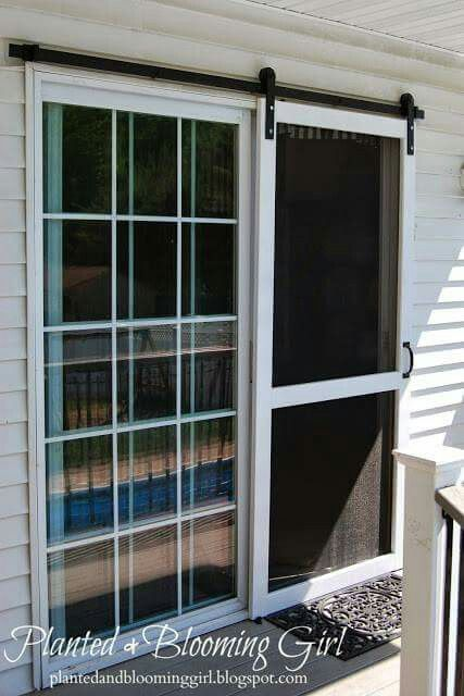 Barn Screen Door Diy Screen Door Sliding Screen Doors Screen Door