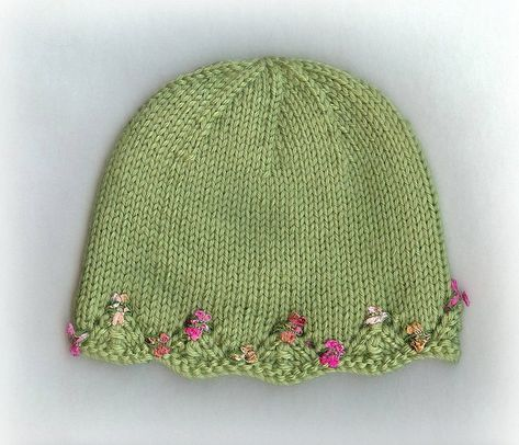 One Day Baby Hat {free pattern}.