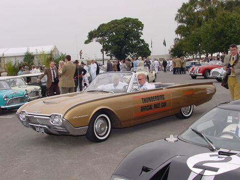 Strange Olde Indy 500 Pace Cars 1961 Ford Thunderbird Indy Cars Indy 500 Cars