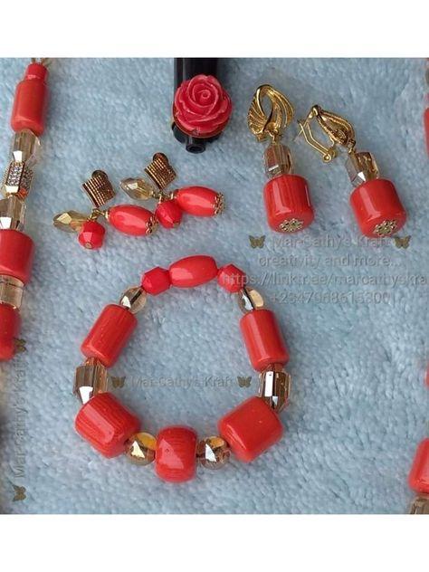 #coral #coraljewelry #coralbeads #handmade #handmadewithlove #handmadejewelry #jewelryart #uniquejewelry #elegantjewelry #styleoftheday #jewelryoftheday #jewelryogthedaybyMK #timeless #beads #bea(ds)utiful #fashion #bracelet #earrings #virtualwedding #weddingtinz #traditional_nigerian_bead #yorubawedding #nigerianbeads #fashion_accessories_for_occassions #jewelryoftheday #handmade_jewelry #handmadejewelrybyMK #josbeader